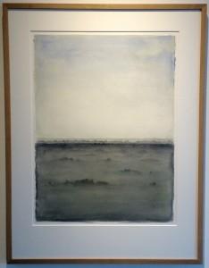 Höf : Georg Guðni gerð: vatnslitur 2006 stærð: 105 x 80
